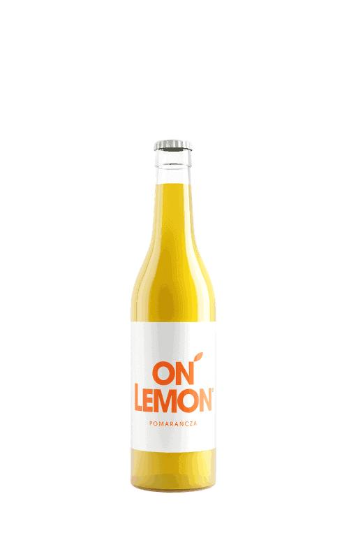 on lemon pomarańcza sklep butelka 0,33l