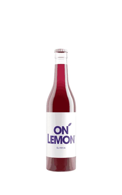 on lemon śliwka sklep butelka 0,33l