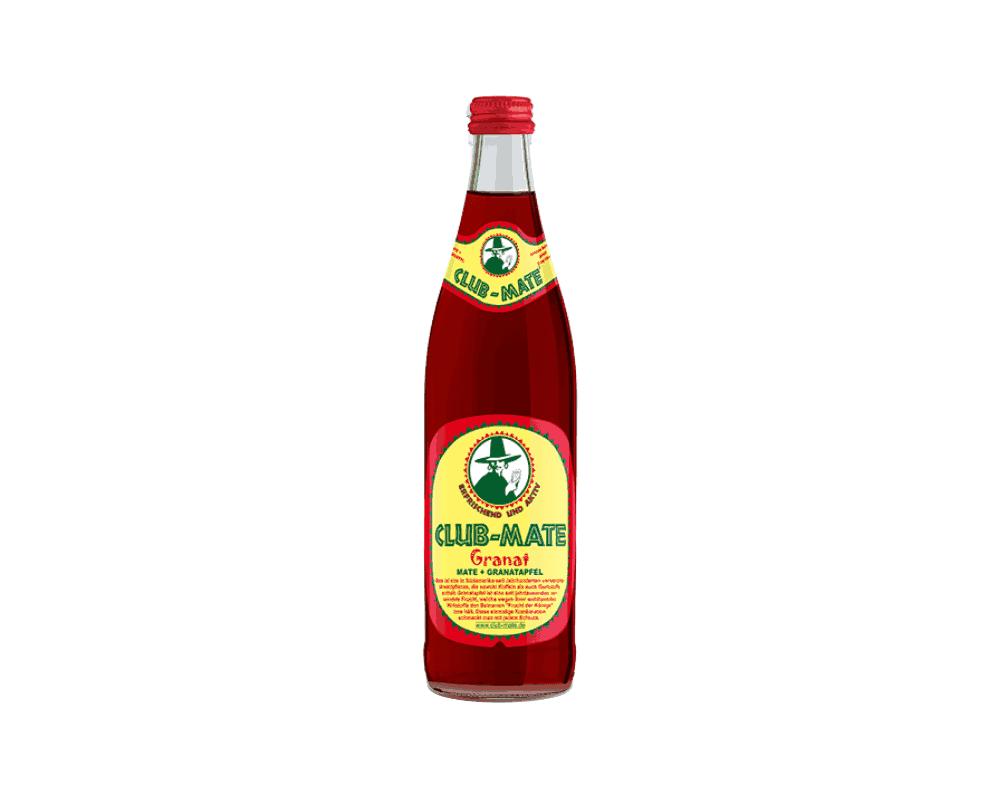 Club Mate Granat napój szklana butelka