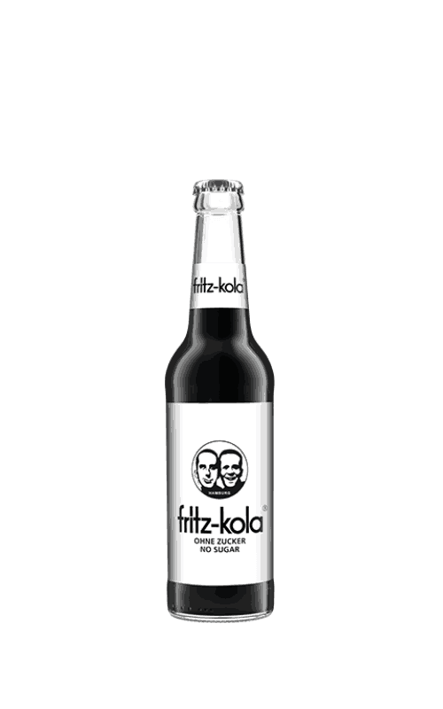 Fritz Kola bez cukru sklep butelka 0,33l