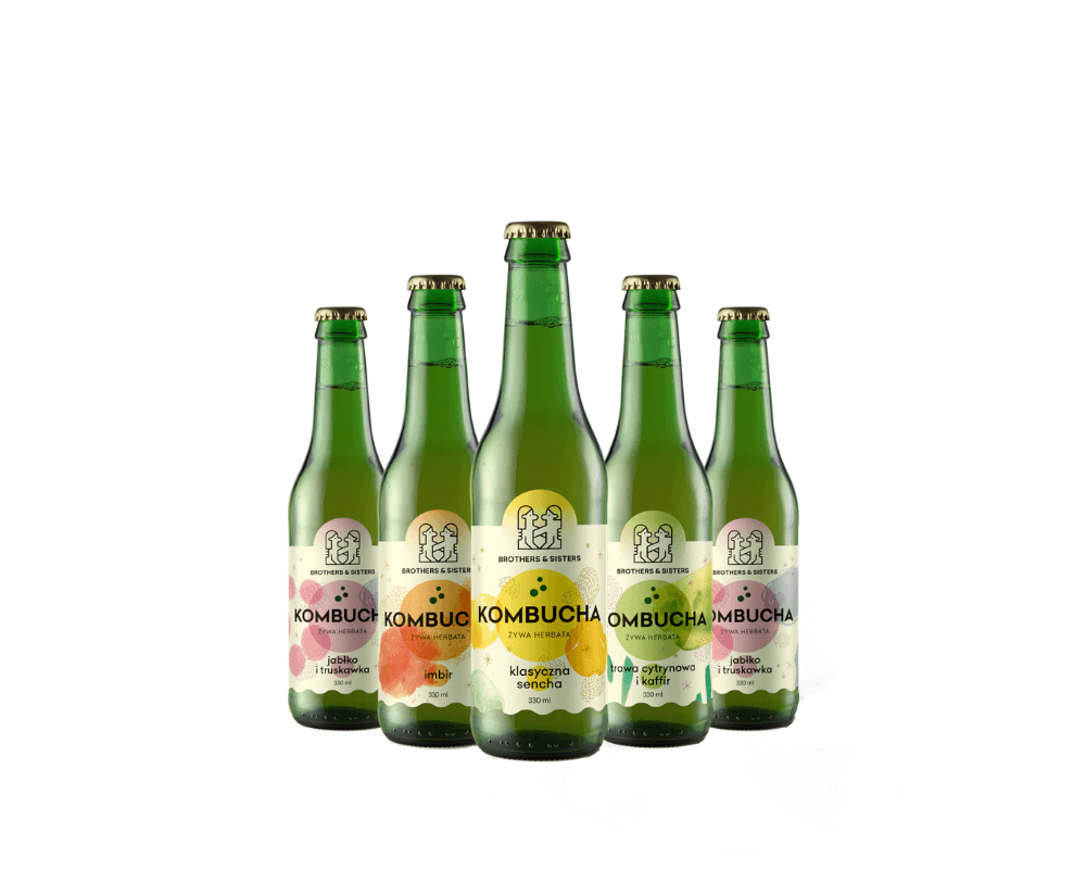 Kombucha Brothers and Siters sklep Butelka 0,33l