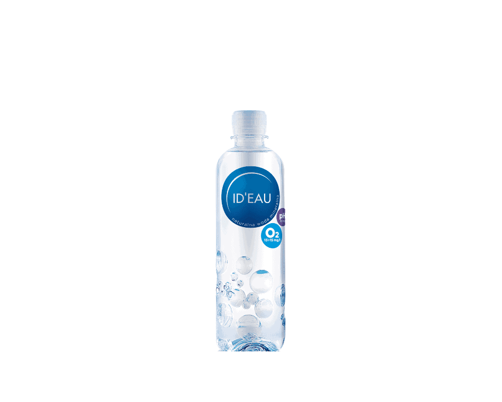 Ideau woda sklep butelka 0,65l